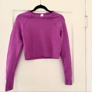 Fabletics crop top sweater